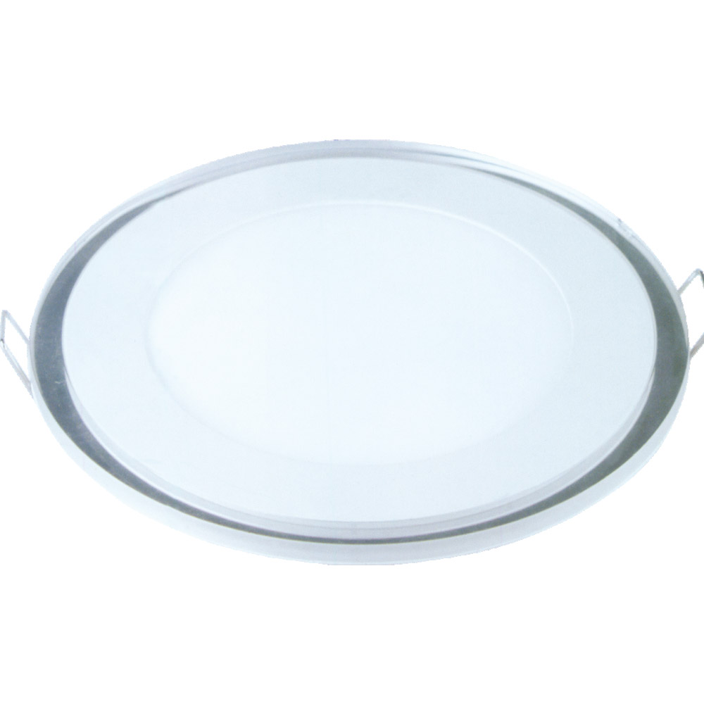 NC - RBG Round Glass Led Panel Light (3 Section)