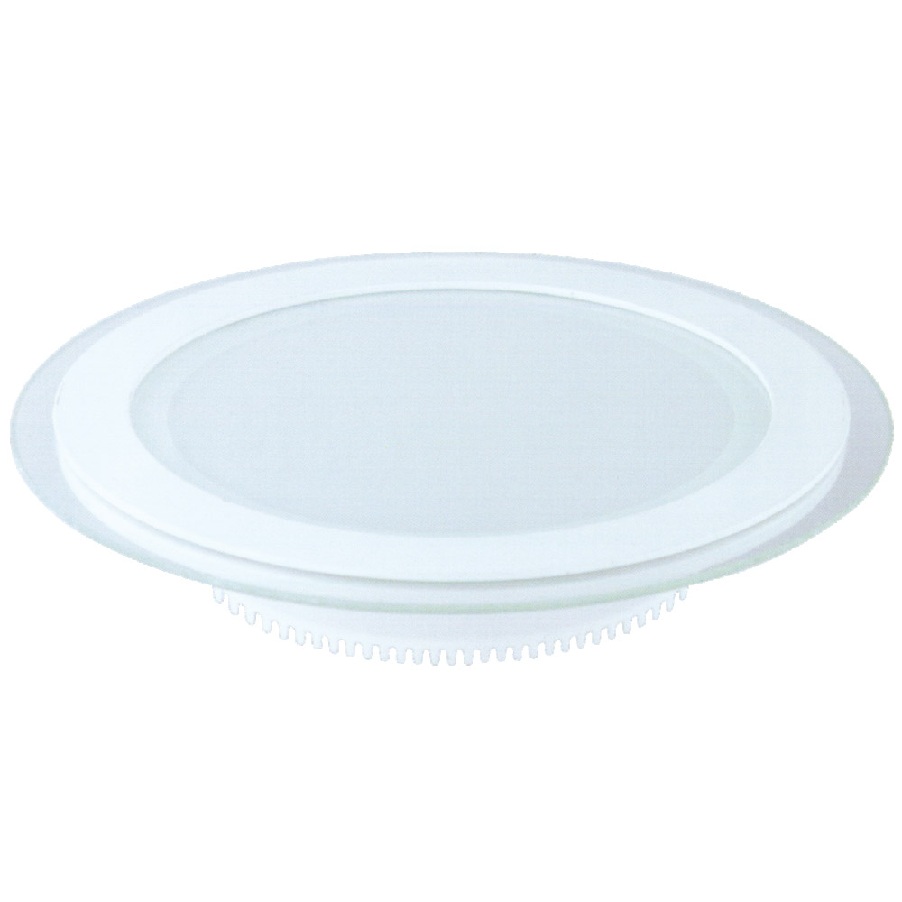 NC - RCG Round Glass Led Panel Light 3 in 1